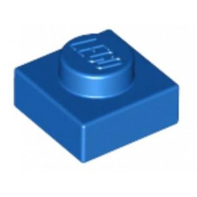 LEGO 1 x 1 Plate Blue