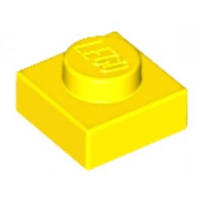 LEGO 1 x 1 Plate Yellow