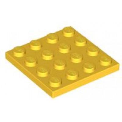LEGO 4 x 4 Plate Yellow