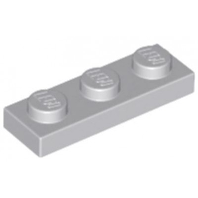 LEGO 1 x 3 Plate Light Bluish Grey