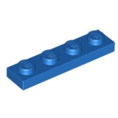 LEGO 1 x 4 Plate Blue