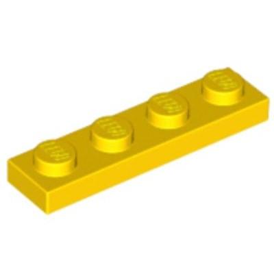 LEGO 1 x 4 Plate Yellow