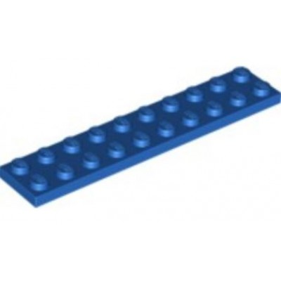 LEGO 2 x 10 Plate Blue