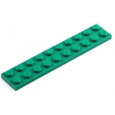 LEGO 2 x 10 Plate Green