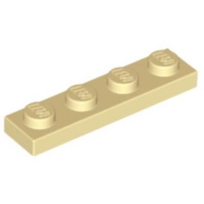 LEGO 1 x 4 Plate Tan