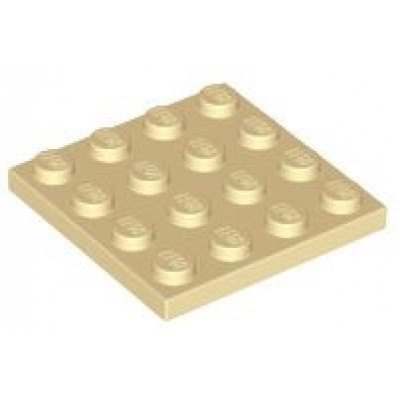 LEGO 4 x 4 Plate Tan