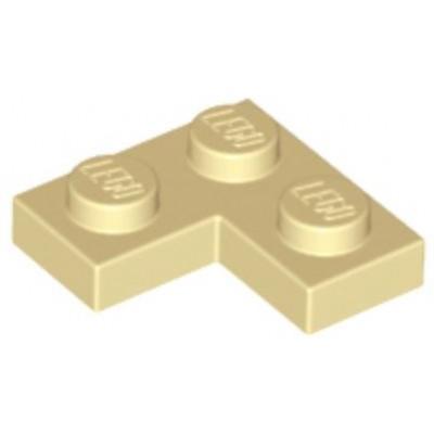 LEGO 2 x 2 Plate Corner Tan