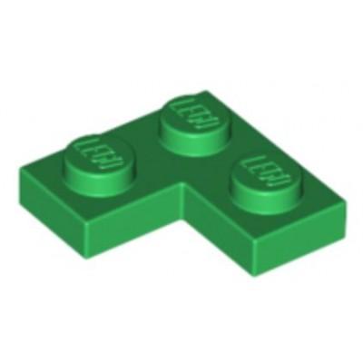 LEGO 2 x 2 Plate Corner Green