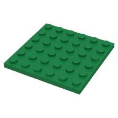 LEGO 6 x 6 Plate Green