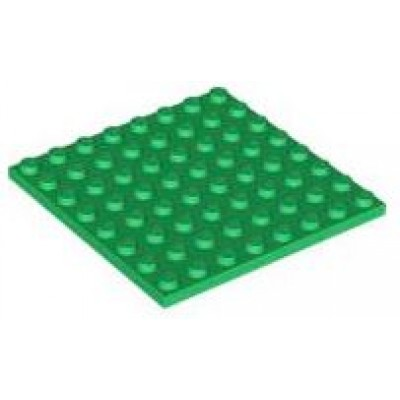 LEGO 8 x 8 Plate Green