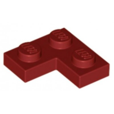 LEGO 2 x 2 Plate Corner Dark Red