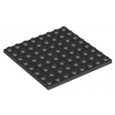 LEGO 8 x 8 Plate Black