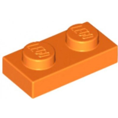 LEGO 1 x 2 Plate Orange