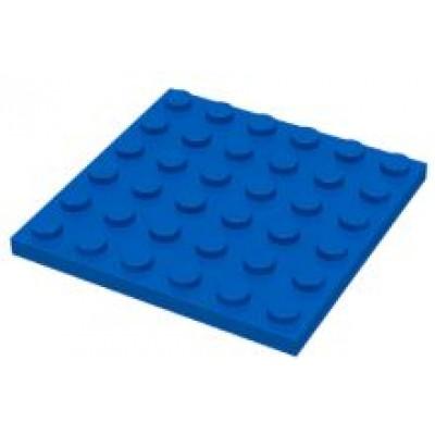 LEGO 6 x 6 Plate Blue