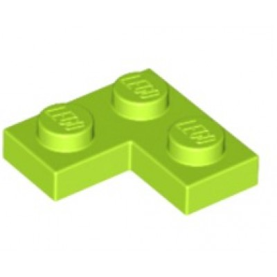 LEGO 2 x 2 Plate Corner Lime