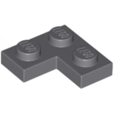 LEGO 2 x 2 Plate Corner Dark Bluish Grey