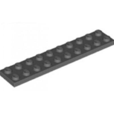 LEGO 2 x 10 Plate Dark Bluish Grey