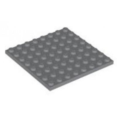 LEGO 8 x 8 Plate Dark Bluish Grey