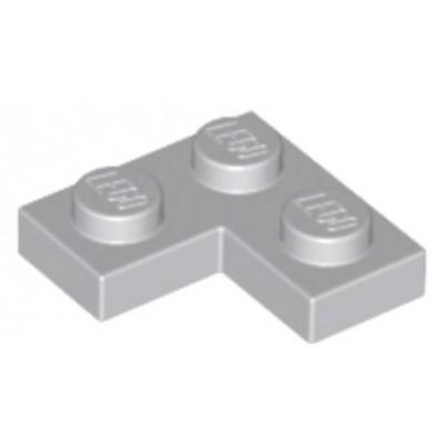 LEGO 2 x 2 Plate Corner Light Bluish Grey