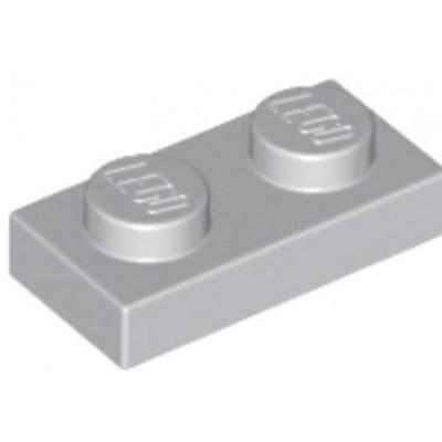 LEGO 1 x 2 Plate Light Bluish Grey