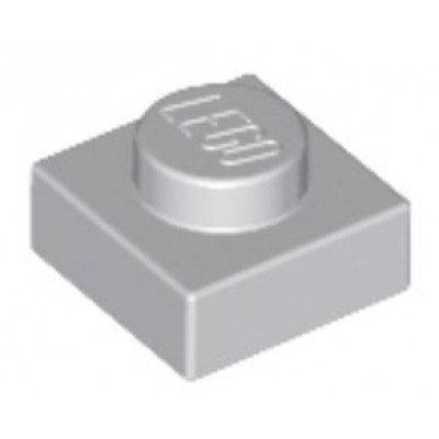LEGO 1 x 1 Plate Light Bluish Grey