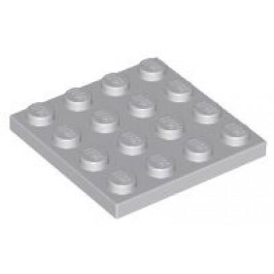LEGO 4 x 4 Plate Light Bluish Grey