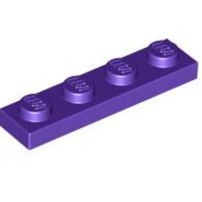 LEGO 1 x 4 Plate Dark Purple