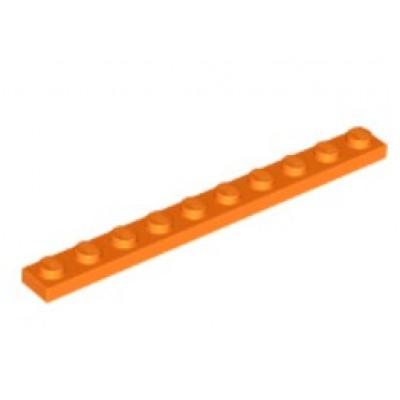 LEGO 1 x 10 Plate Orange