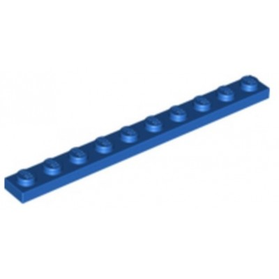 LEGO 1 x 10 Plate Blue