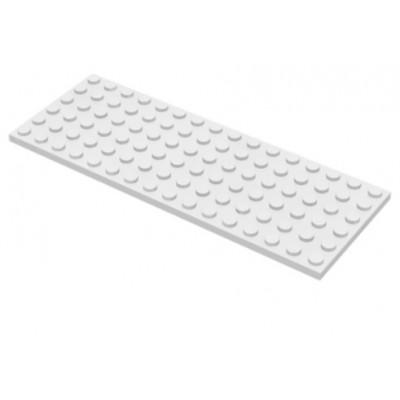 LEGO 6 X 16 Plate White