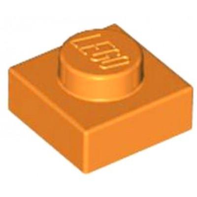 LEGO 1 x 1 Plate Orange
