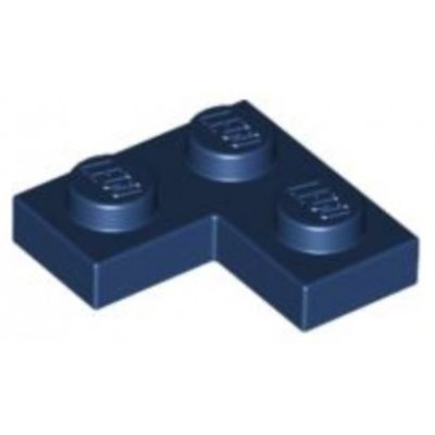 LEGO 2 x 2 Plate Corner Dark Blue