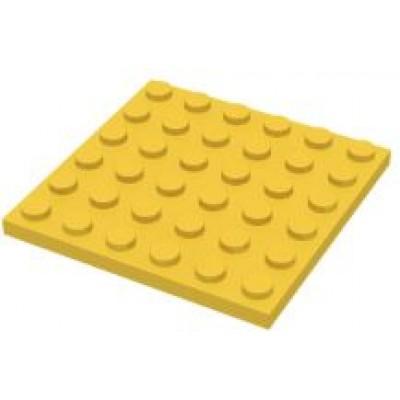 LEGO 6 x 6 Plate Yellow