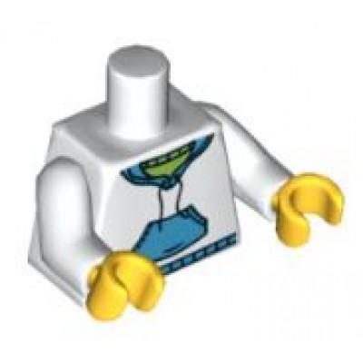 Lego Minifigure Torso - Hooded Sweatshirt with Pockets