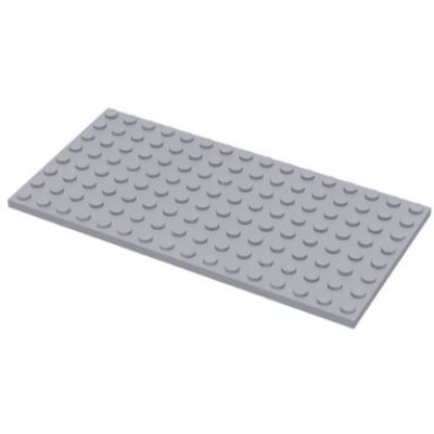 LEGO 8 x 16 Plate Light Bluish Grey