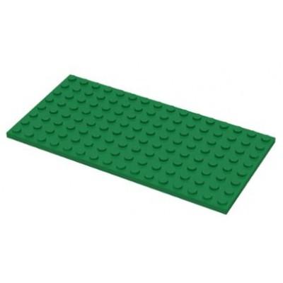 LEGO 8 x 16 Plate Green