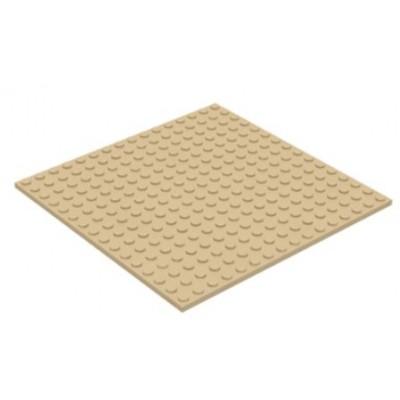 LEGO 16 x 16 Plate Tan