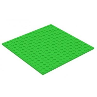 LEGO 16 x 16 Plate Bright Green