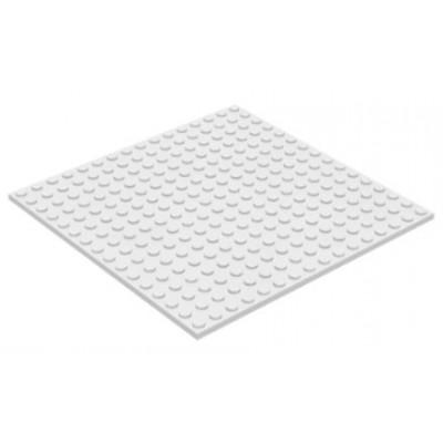 LEGO 16 x 16 Plate White