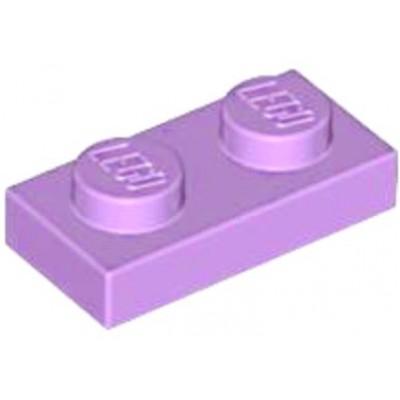 LEGO 1 x 2 Plate Medium Lavender