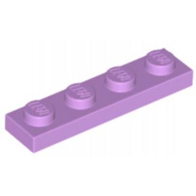 LEGO 1 x 4 Plate Medium Lavender