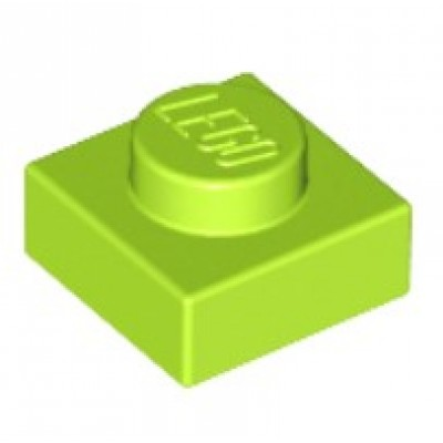 LEGO 1 X 1 Plate Lime