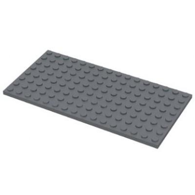 LEGO 8 x 16 Plate Dark Bluish Grey