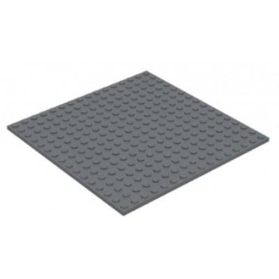 LEGO 16 x 16 Plate Dark Bluish Grey