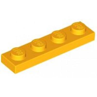 LEGO 1 x 4 Plate Bright Light Orange