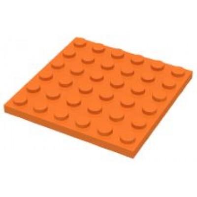 LEGO 6 x 6 Plate Orange