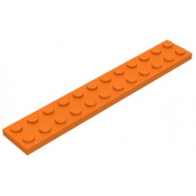 LEGO 2 x 12 Plate Orange