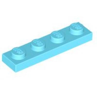 LEGO 1 x 4 Plate Medium Azure