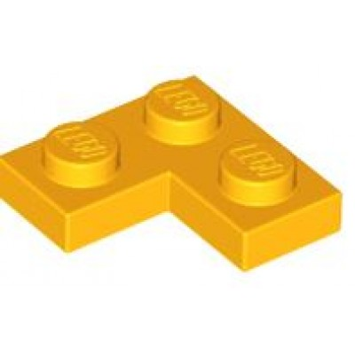 LEGO 2 x 2 Plate Corner Bright Light Orange