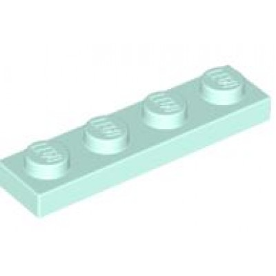 LEGO 1 x 4 Plate Light Aqua